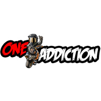One Addiction 250mm Long Sticker